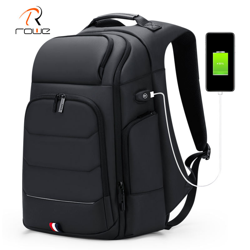 FENRUIEN Travel Laptop Backpack Business Anti Theft Durable Laptops Backpacks with USB Charging Water Resistant College Bookbag