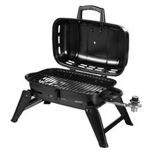 Churrasuqeira Asador Grill Gas BBQ Grill Churrasqueira Camping Portable Gas Grill with Folding Legs 17.5 inch