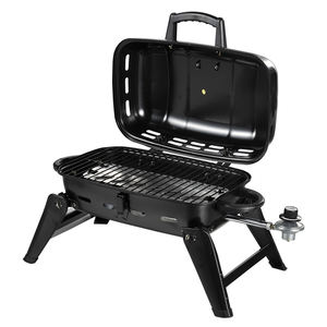 Asador Grill Gas Bbq Grill Churrasqueira Camping Draagbare Gas Grill Met Vouwen Benen 17.5 Inch