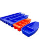Rotomolding plastic small river fishing pontoon boats for sale with good