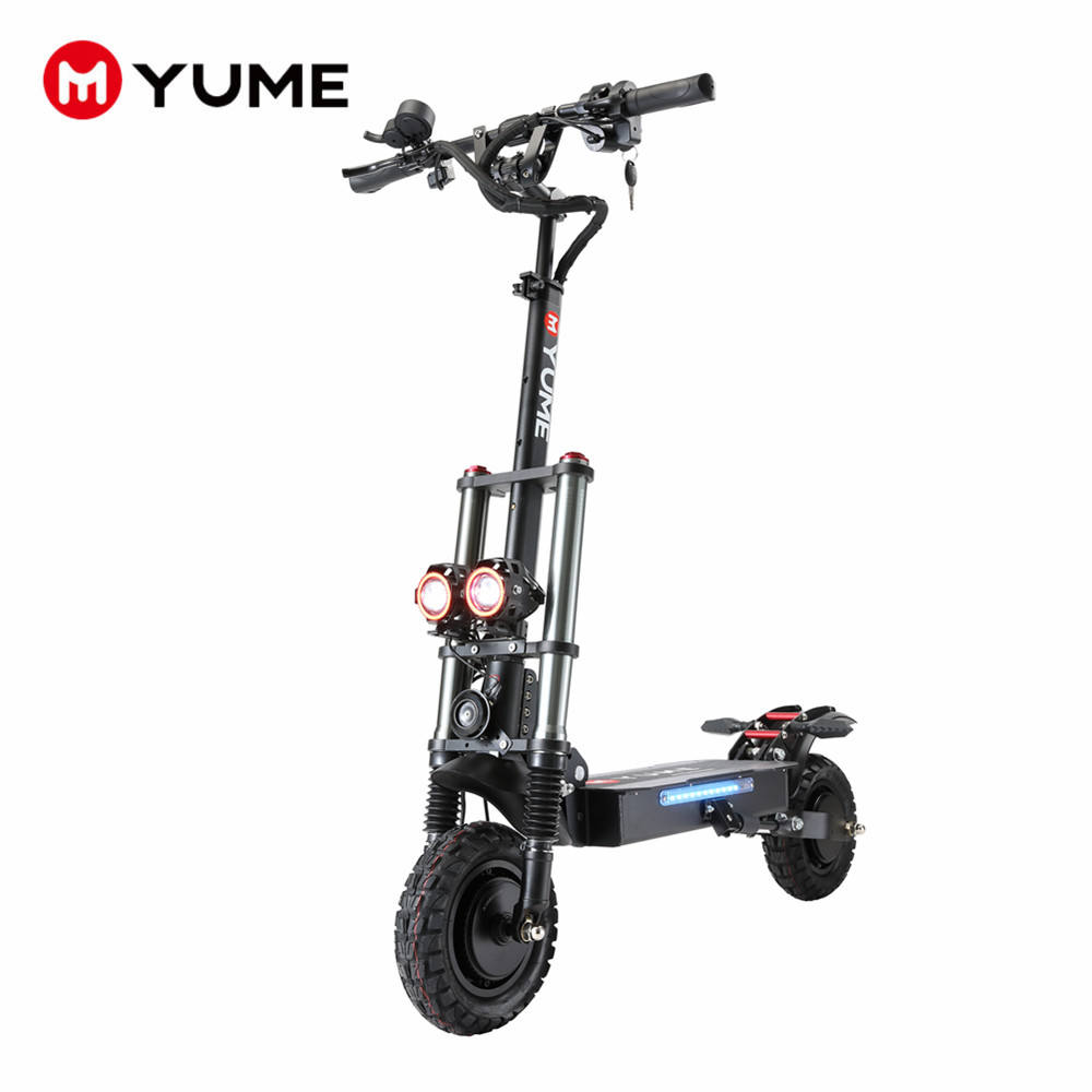 China cheap 60v 2400W dual motor e scooters widewheel foldable adult electric scooter