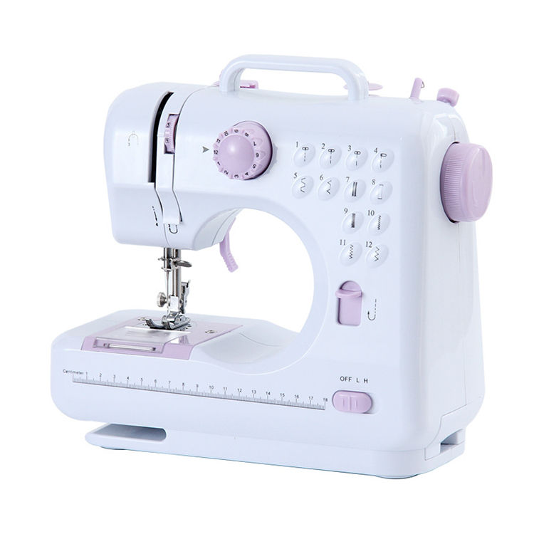 Mini small electric portable handheld sewing machine button hole sewing machine
