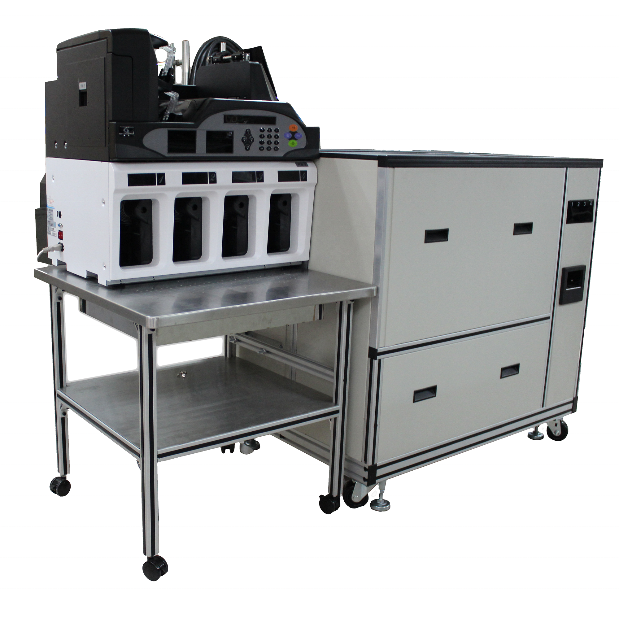 Professional Currency Processing Equipment GA-QZ8000EG Banknote Sorter and Binder for Bank