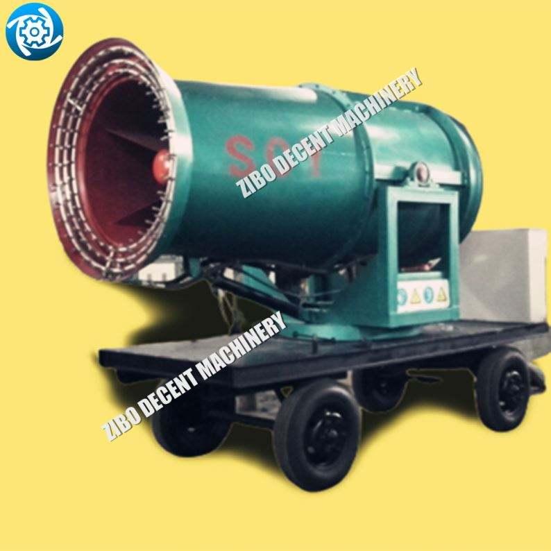 Mejor calidad, fabricante de China, 100M, niebla de agua, refrigeración, desempolvamiento, minería, Carbón, Cañón de niebla para desinfección y esterilización
