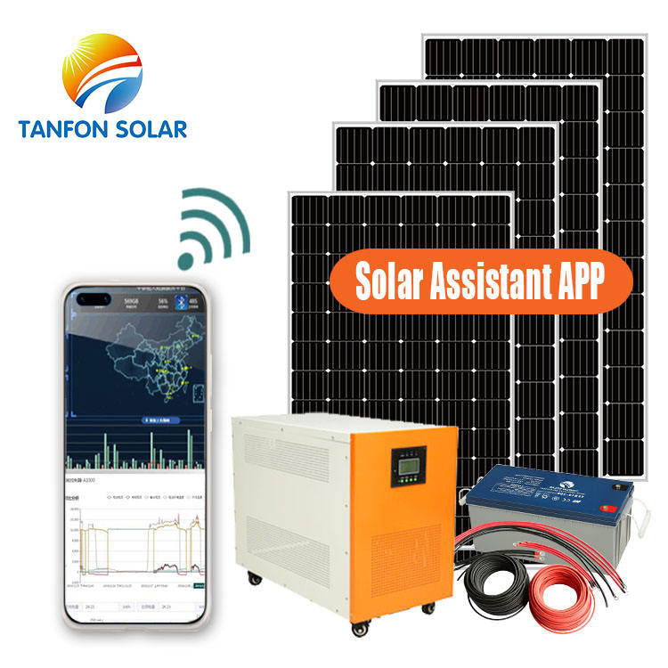 Energy saving 5kw solar panel systems for house for Tanzania solar panel system home 5kw