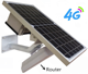 New Wireless Wifi 4G Router with Solar Power SIM Card Slot Dual Sim Waterproof 4G Lte Router Wireless Router 4G