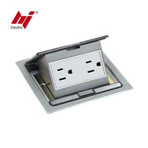 USA 15A 20A Waterproof Floor Outlet Using in USA Market