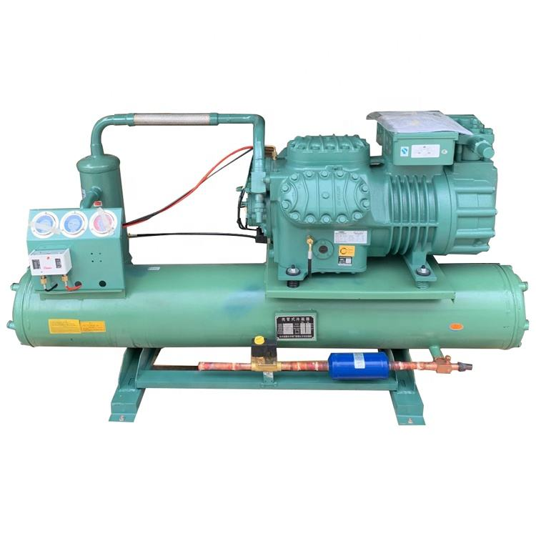 40HP box type water industrial chiller bitzer compressor condensing unit for refrigeration system