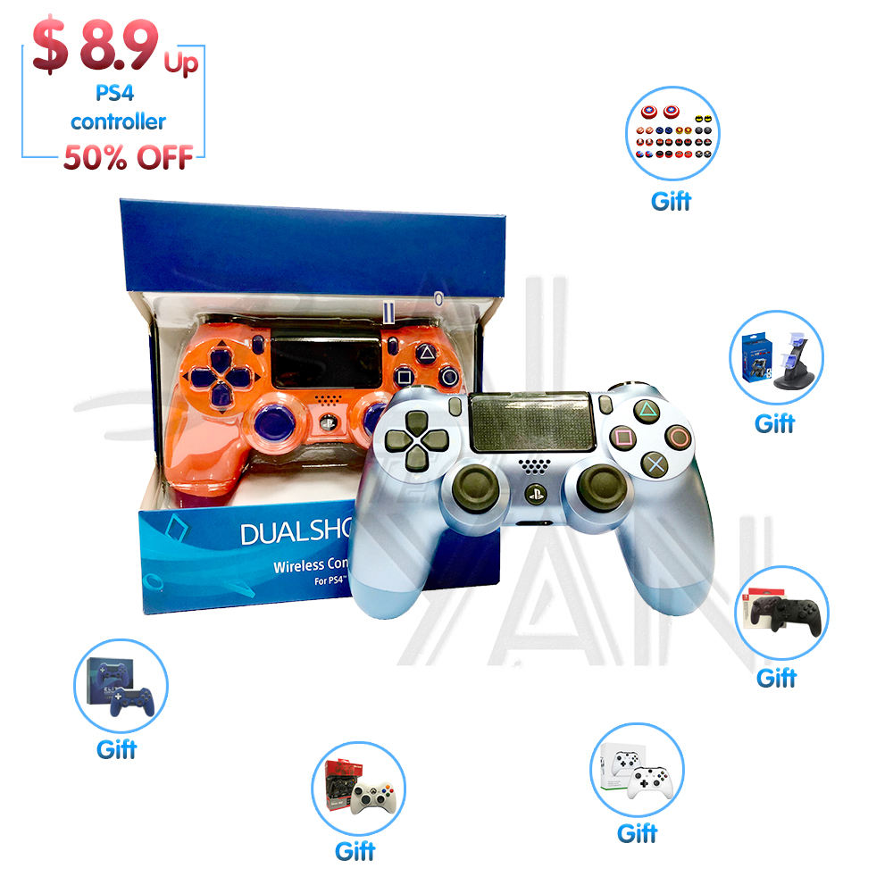 Amazon hot sell DualShock 4 V2 Fit For mando V4 PS4 Controller 4 pro Wireless PS5 PS4 Gamepad for Playstation 4 Joystick Console