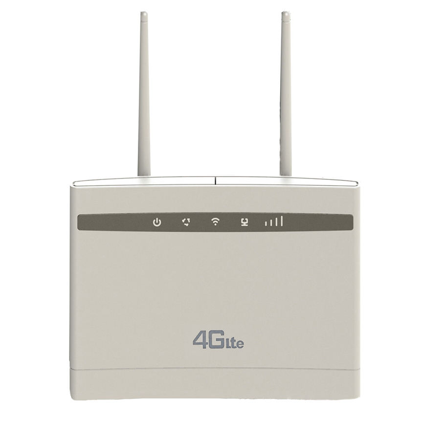 B1 B3 B5 B8 Unlimited SIM Card Data RJ45 Modem CPE Up to 32 Users 300Mbps Wireless 4G LTE CPE Router