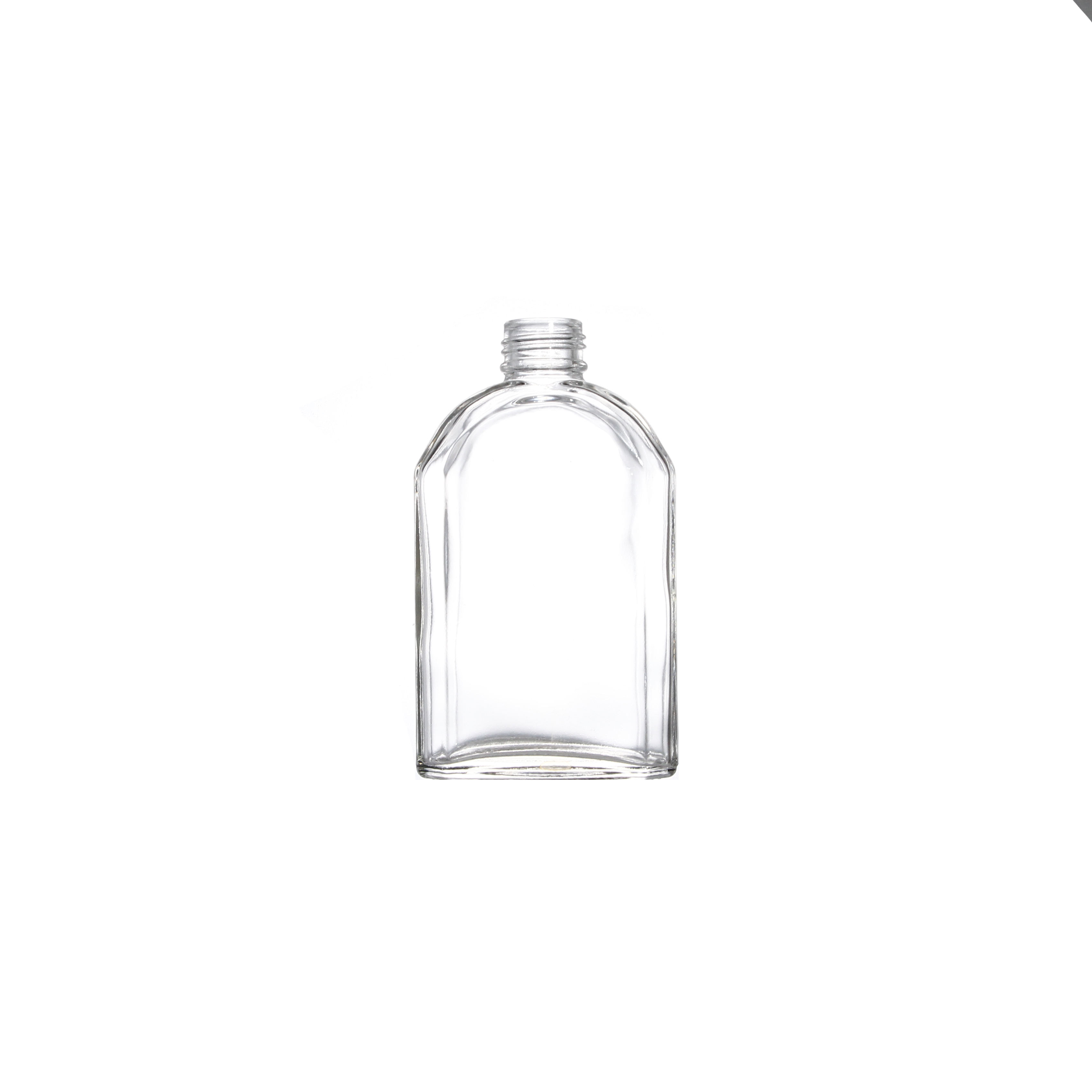 Professional Manufacturer Supplier Factory Manufactured Flask Flat Glass Bottle 250ML