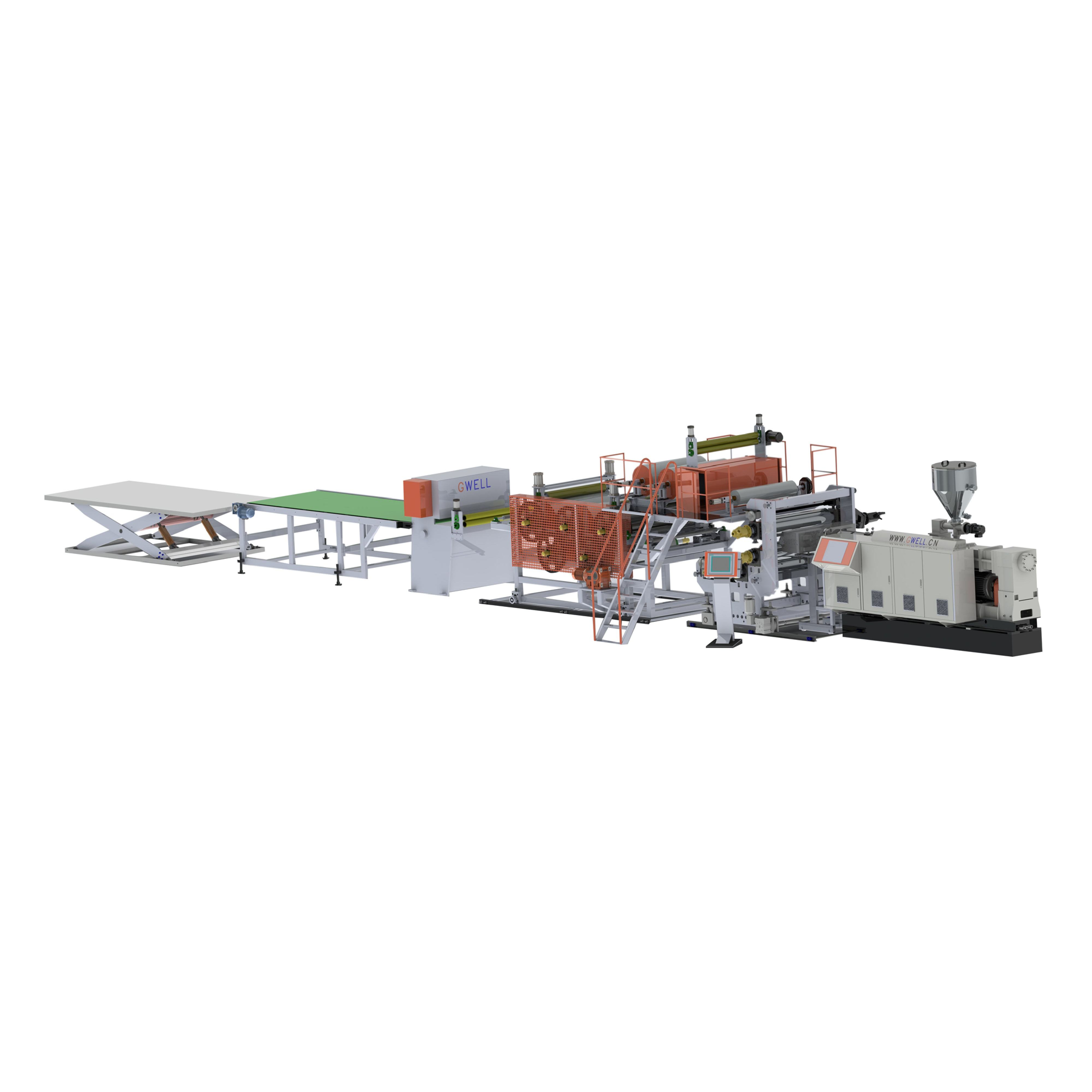 Provide installation and commissioning of double screw WPC wood plastic floor extrusion line WPC wood plastic floor