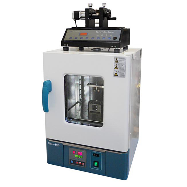 5 Position Multistation Programmable Heat Dip Coater With Speed 1-200 Mm/Min & Heating Chamber