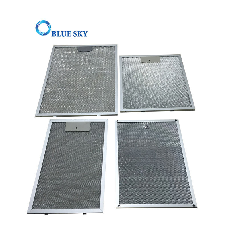 Kitchen Cooker Hood Filter Aluminium Mesh Grease Filter