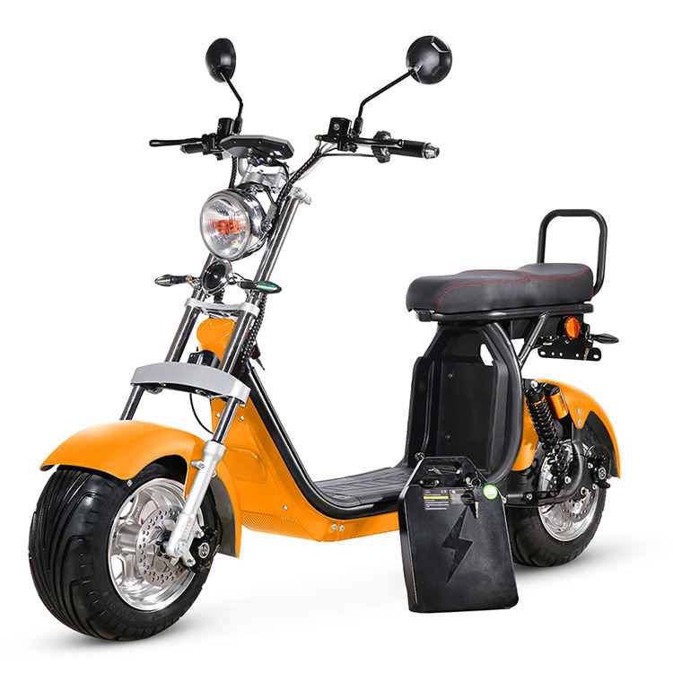 New design modern European warehouse inventory 1500w EEC/COC electric citycoco scooter