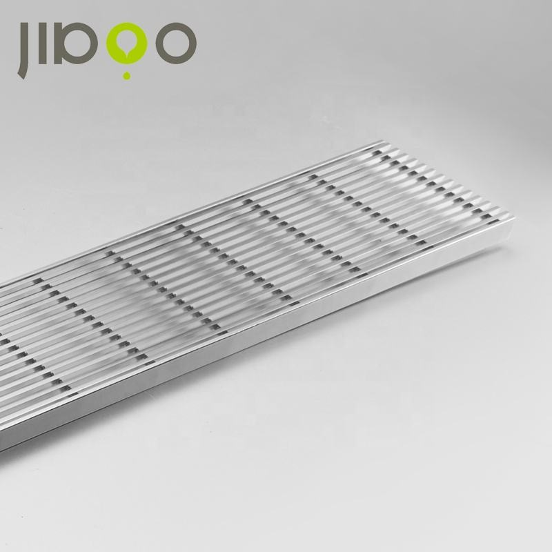Wedge wire stainless steel floor grating