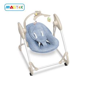 Bluetooth Connect Music Swing Chair Baby Rocking Chair With Removable Mobile Toy Children Hanging Swing Chair