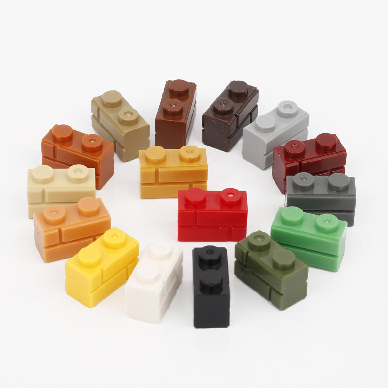 Compatible with legoinglys 1000pcs construction house colorful 1X2 98382 bricks building block