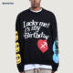 EXP Factory Wholesale New Arrivals Youth Unique Printing Loose Fit Street Wear Sweatshirt