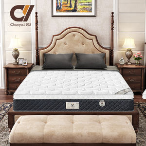 Luxury Hotel Bed Quality Twin Queen King Full Size Natural Latex Density Soft Coil Memory Foam Mattress Toppers