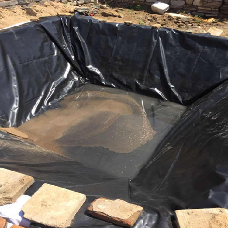 Pond Liner Geomembrane China Geomembrane Hdpe 1mm Geomembrane Fish Farm Pond Liner Hdpe Geomembrane