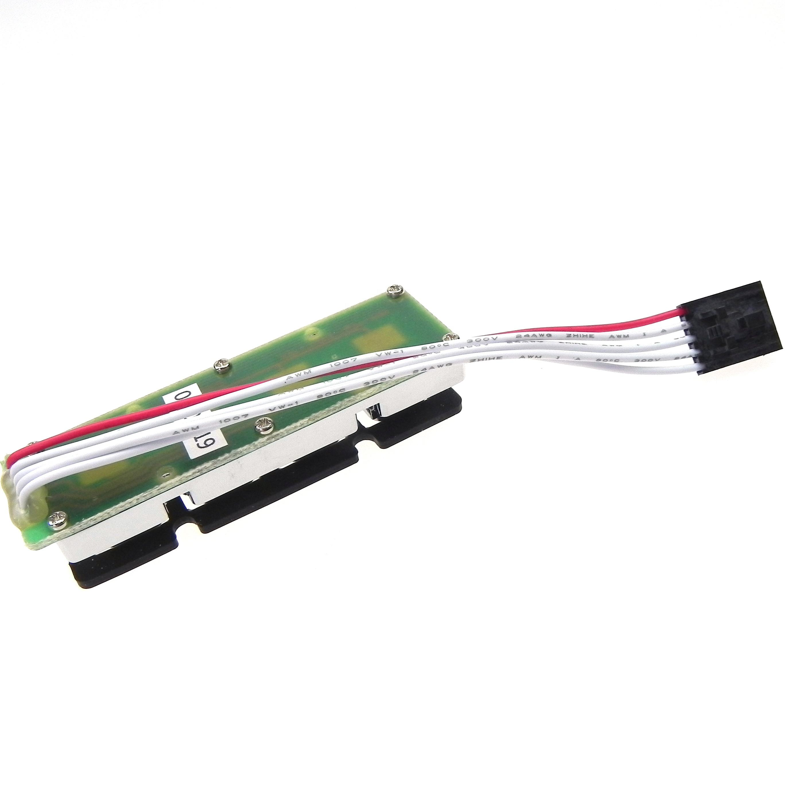 Multipcomp mcak 104BSSSW Button to molex 5-57-9405 connector 5pin 2.5mm electric cables wires cable assembly