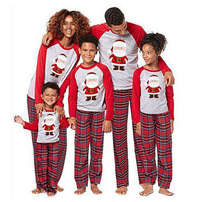 2020 High Quality Long Sleef baby Garment Christmas Pajama Set Wholesale Winter Xmas Designed Pajamas Collection For Family
