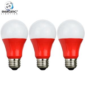 En Stock En Gros Maison Décorative Rouge Ampoules A19 Ampoules Led 3 watts