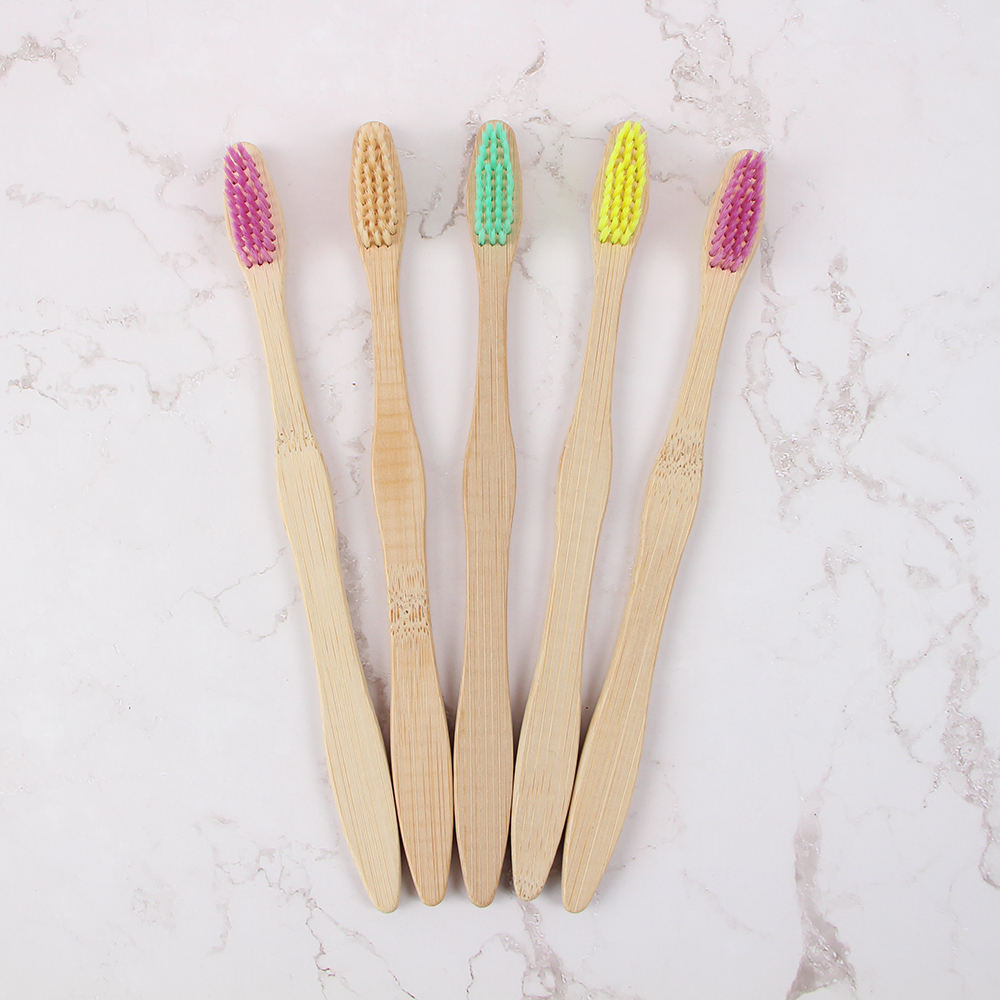 Professional eco-friendly biodegradable bristles organic natural charcoal infused cheap bamboo toothbrush