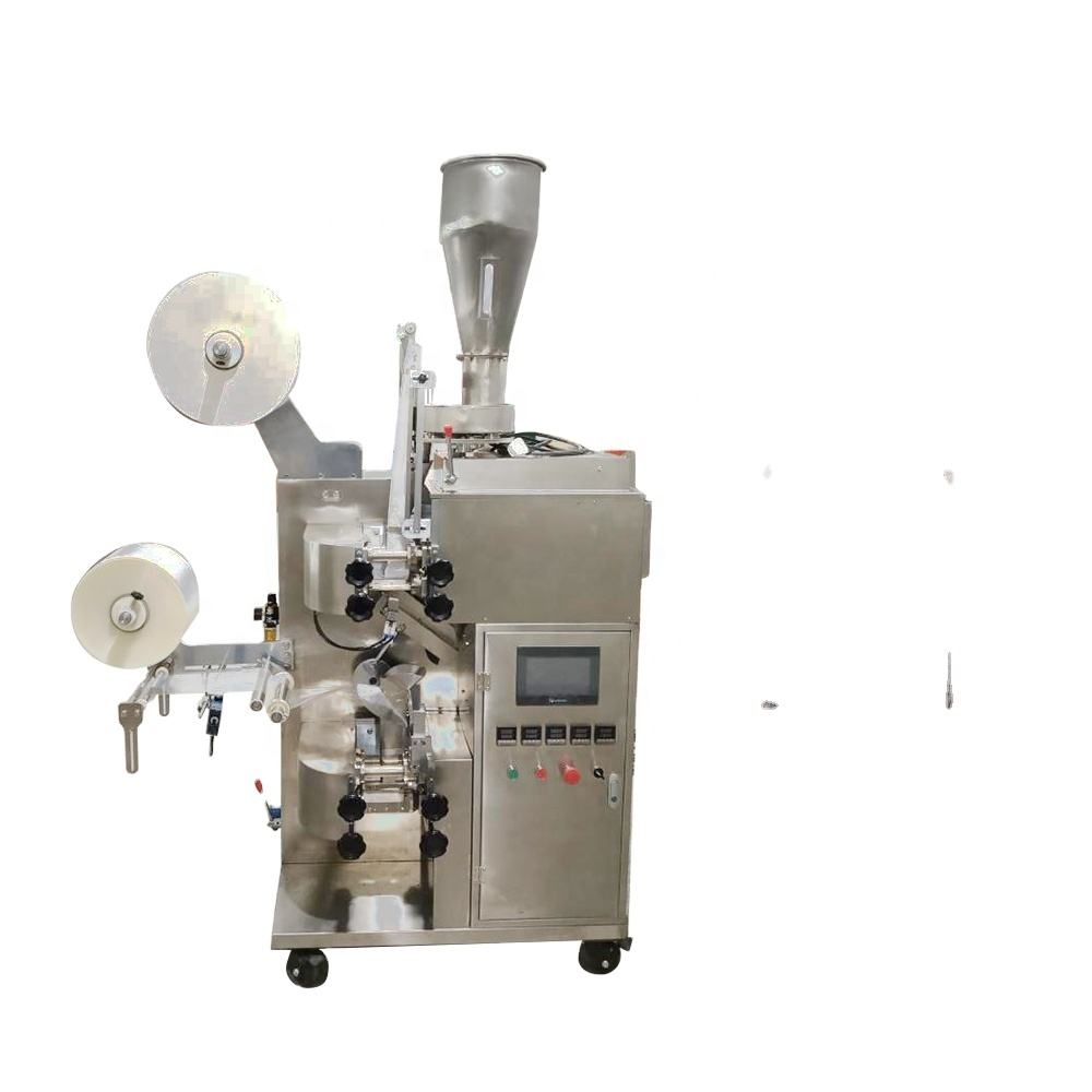 Automatic Double Chamber Maisa Tea Leaf Leaves Filter Khaini Paper Tea Bag Packaging Packing Machine Japan For Loose Tea