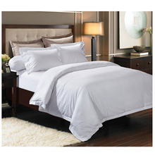 wholesale factory price white hotel bed linens 100% cotton