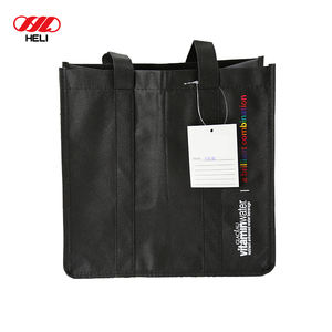 High Quality Hand Length Handle Grocery Shopping Fabric Non-woven Bags