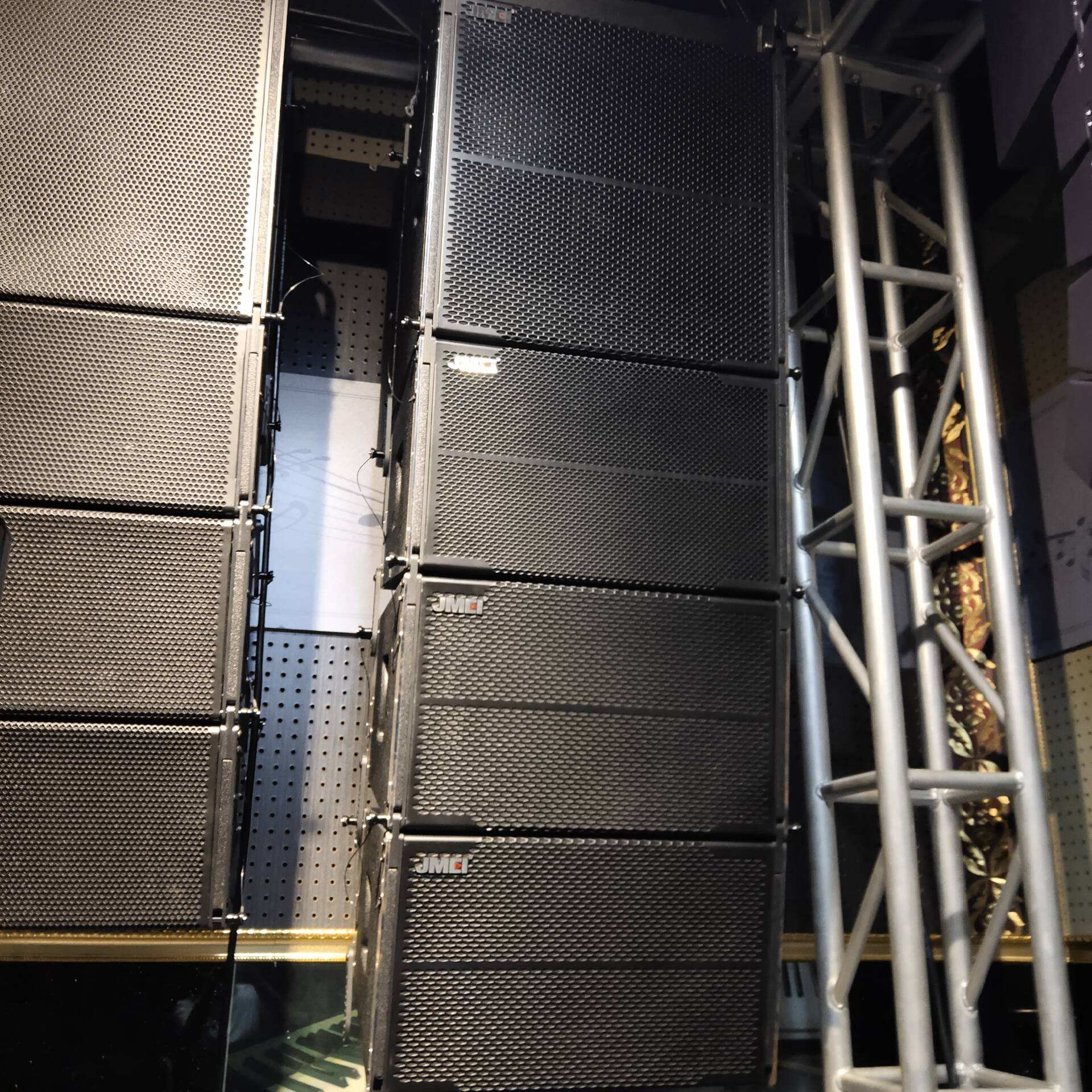 2019 Outdoor Line Array Sound System For 50000 Audiences Public Address