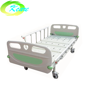 Latest design luxurious castor 2 cranks manual medical hospital bed for wholesale