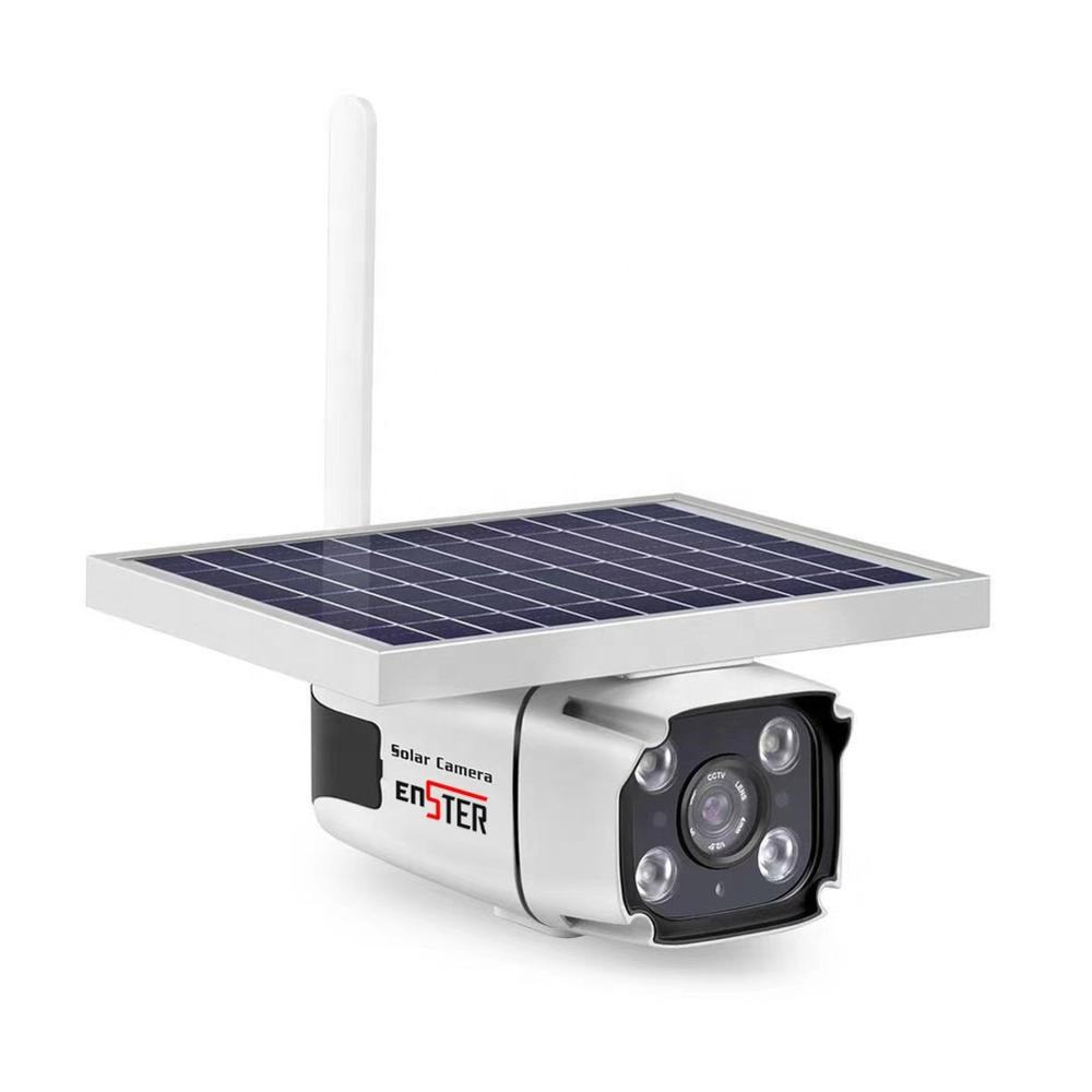 Outdoor IP67 Wireless 1080P IP Security Surveillance Solar Powered Cctv Wifi Camera
