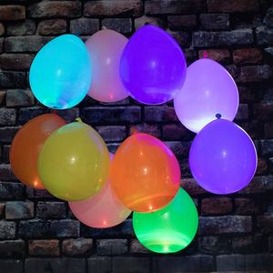 Geburtstag Party Dekoration Led Luftballons Blinklicht Up Ballon Glow in The Dark