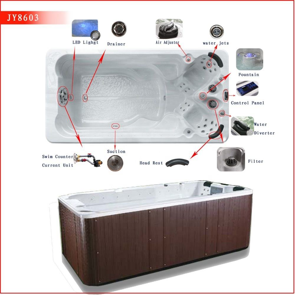 New Arrival Spa Tub Mini Outdoor Swimming Pool For Family