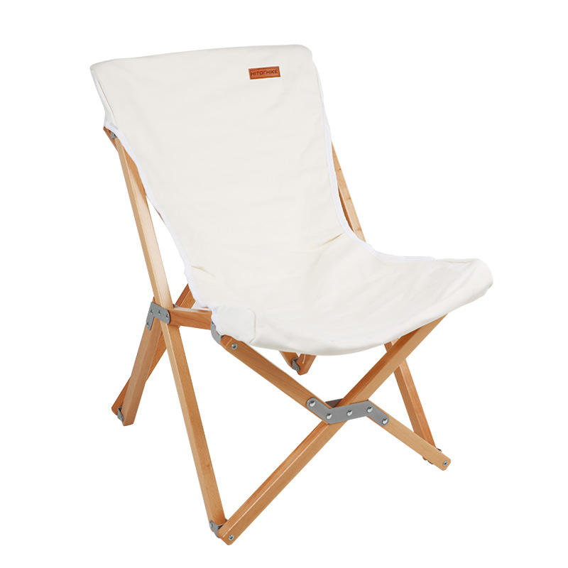 Hitorhike 2020 New Style butterfly beech chair outdoor wooden chairs foldable wood furniture camping wood chair foldable