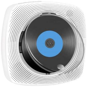 Portable CD player built in speaker bass sound stereo FM radio HIFI BTH Music CD player