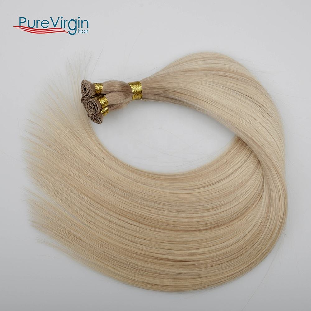 H#B9.1-60A Hair Extension Type Hand-tied weft hand tied weft human russian virgin