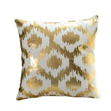 hot selling pillows home decor gilding style cushion cover