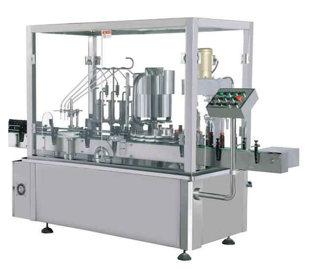 liquid filling stoppering plugging capping machine