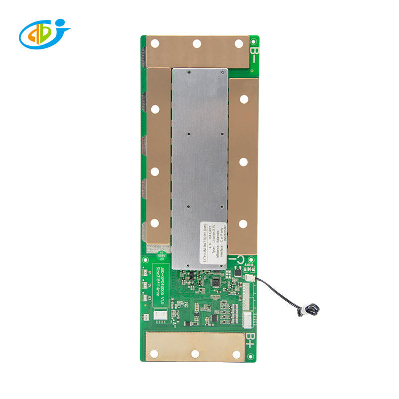 jiabaida Smart bms 4s 12v 150a lifepo4 bms wireless bms with UART communication serial port control circuit board
