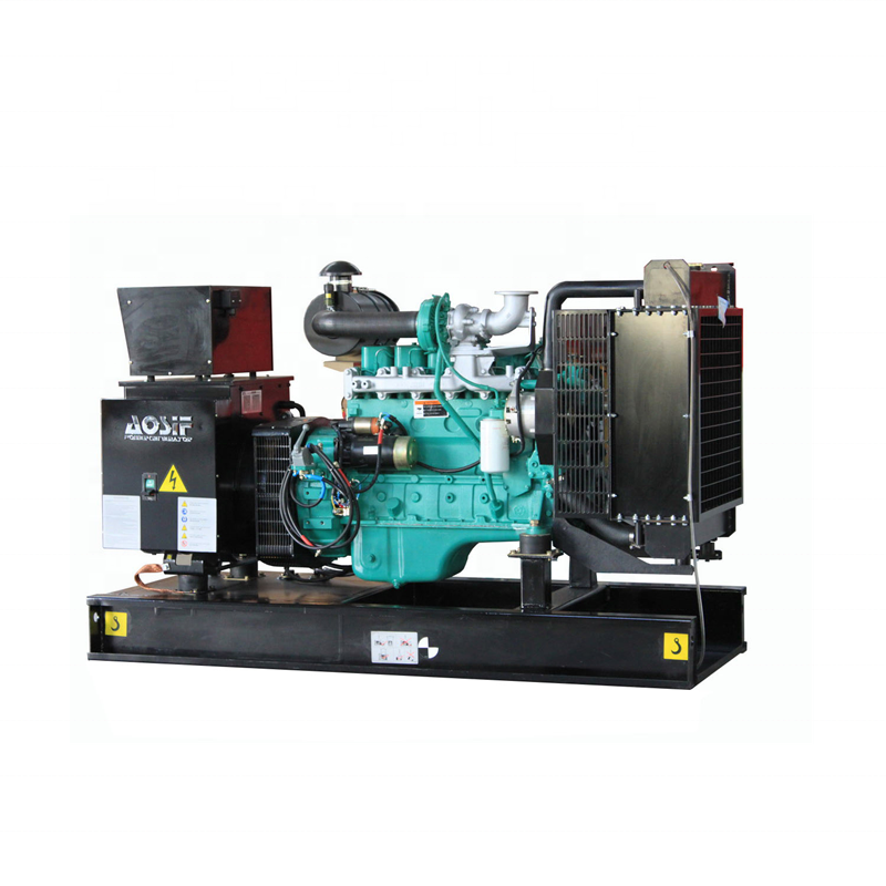 With Cummins Engine Diesel Electric 144KW/ 180KVA 24V DC Motor Generator