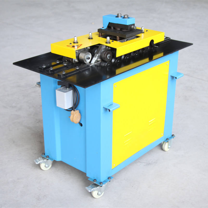 SA-15HB Multifunctional Seven 7 Functions Locking Machine Pittsburgh Lock Machine For 1.5mm Thickness Plate