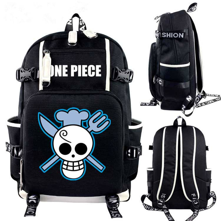 Hot Japanese Anime One Piece Anime Cosplay Cartoon Canvas Colorful Backpack Bag