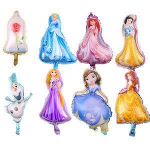 Gefrorene Prinzessin Luft Kids Cartoon Party Favor Dekoration Ballon Tier SmallMini Größe Ballon