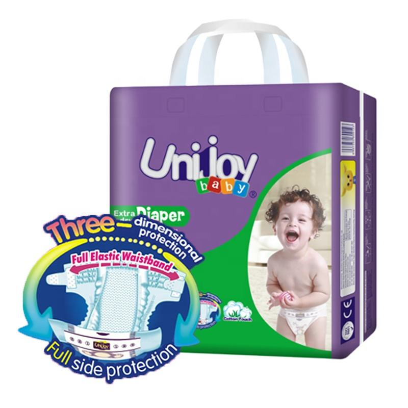 Unijoy High Quality Attractive Price Disposable European Standard Baby Diaper Manufacturer from China Diapers Supplier