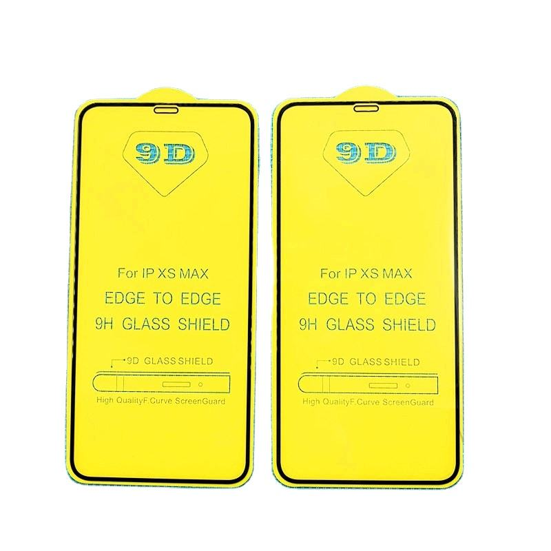 Ultra Thin Wholesale 9H 2.5D for X Tempered Glass 11 6 7 8 Plus Max 3 Full Cover Packing 6 9 D Screen Protector For Iphone 12