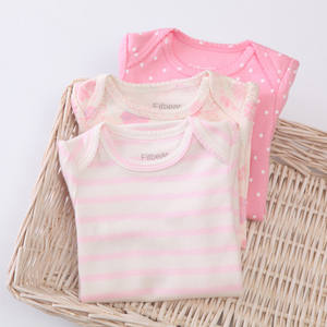 Summer Style FITBEAR Brand Gift Baby Clothes Holiday Girl Boys Infant Clothing Set Baby Layette